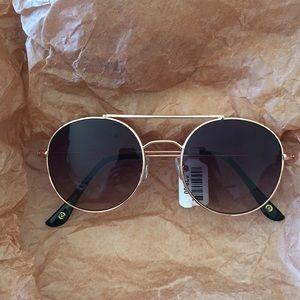 Anthro Rose Gold Frame Sunglasses!